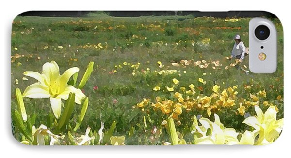 Consider The Lilies Of The Field Phone Case by Jean Hall