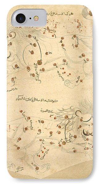 Constellation Of Leo IPhone Case by British Library