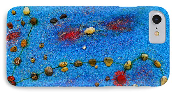 Constellation Of Pisces IPhone Case by Augusta Stylianou