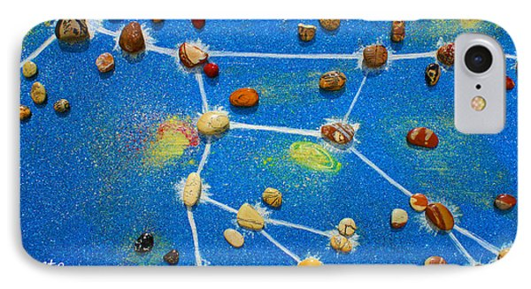Constellation Of Ursa Major IPhone Case by Augusta Stylianou