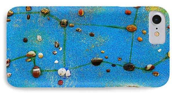 Constellation Of Virgo IPhone Case by Augusta Stylianou