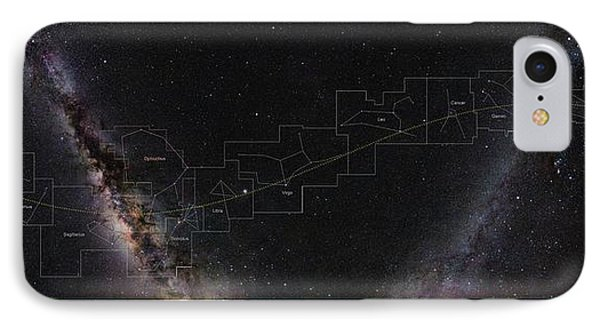 Constellations Of The Zodiac IPhone Case by Eckhard Slawik