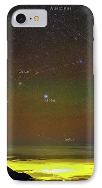 Constellations Over Clouds IPhone Case