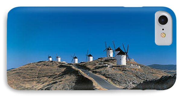 Consuegra La Mancha Spain IPhone Case by Panoramic Images