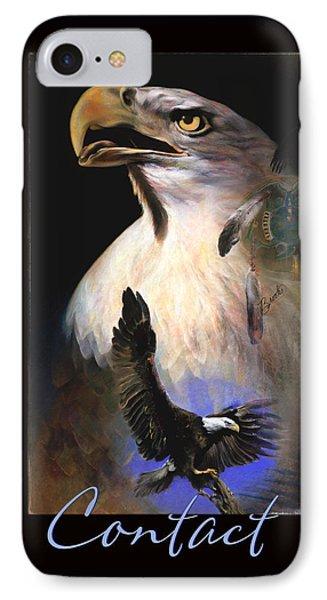 C O N T A C T   IPhone Case by Brooks Garten Hauschild