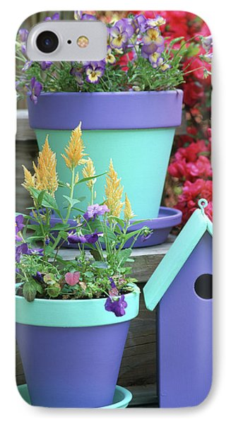 Containers With Sorbet Yellow Delight IPhone Case by Richard and Susan Day