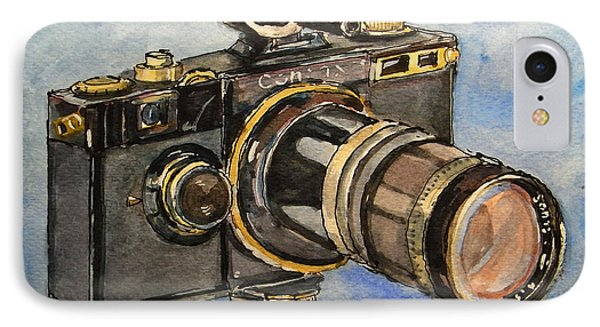 Contax I IPhone Case by Juan  Bosco