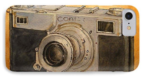 Contax II IPhone Case by Juan  Bosco