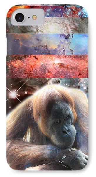 Contemplating Multiple Universes IPhone Case