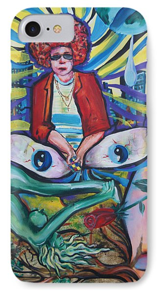 Contemplation Of Life Phone Case by Lorinda Fore and Tony Lima