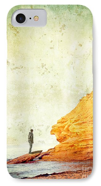 Contemplation Point Phone Case by Edward Fielding