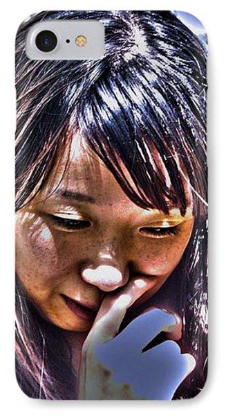 Contemplation IPhone Case by Tim Ernst