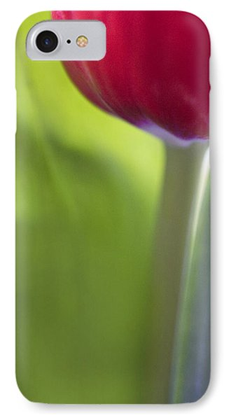 Contemporary Tulip Close Up Phone Case by Natalie Kinnear