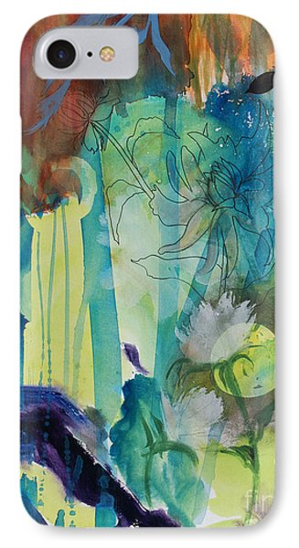 IPhone Case featuring the painting Continuum by Robin Maria Pedrero