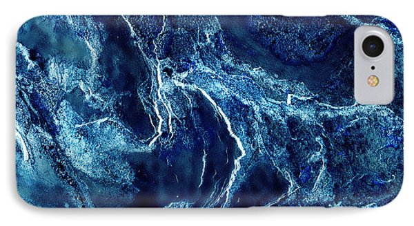 Contours 093 Abstract Phone Case by Natalie Kinnear