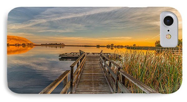 Contra Loma Dock At Sunrise IPhone Case by Marc Crumpler