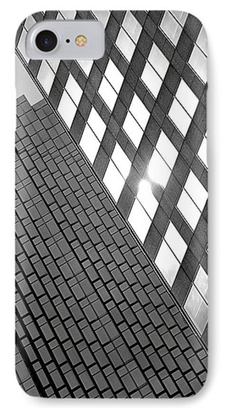 Contrasting Architecture IPhone Case by Valentino Visentini