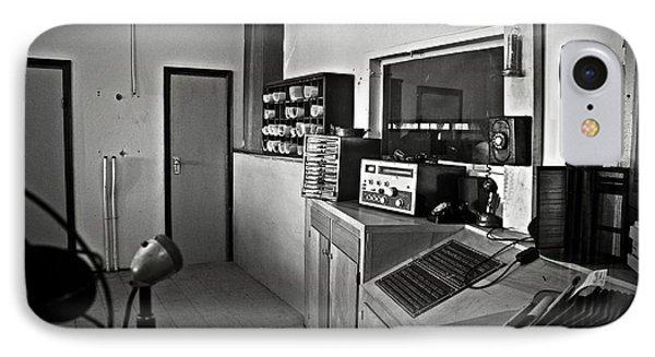 Control Room In Alcatraz Prison Phone Case by RicardMN Photography
