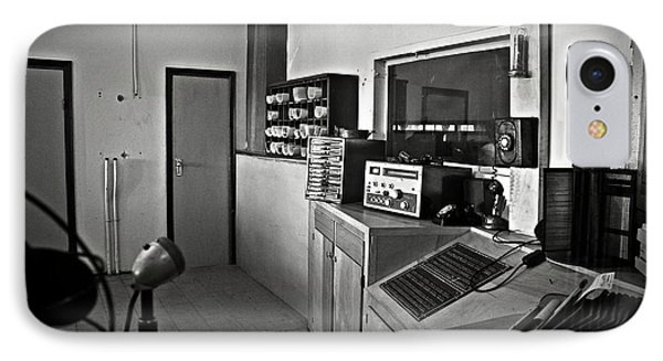 Control Room In Alcatraz Prison IPhone Case