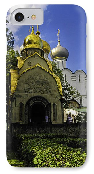 Convent - Moscow - Russia Phone Case by Madeline Ellis