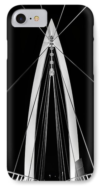 Convergence On Wichita Bw IPhone Case