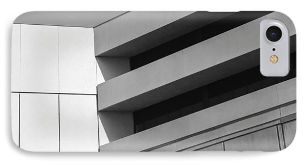 IPhone Case featuring the photograph Converging Lines - Urban Abstracts by Steven Milner