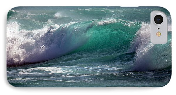 Converging Waves IPhone Case by Lori Seaman