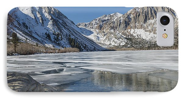 Convict Lake Morning Phone Case by Sandra Bronstein