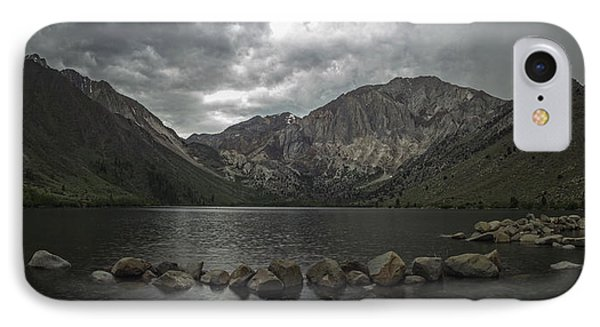 Convict Lake Panorama IPhone Case by Brad Scott