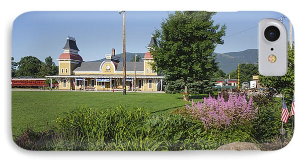 Conway Scenic Railroad - North Conway New Hampshire Usa Phone Case by Erin Paul Donovan