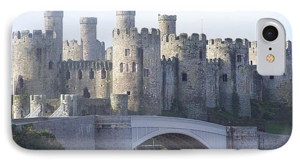 Conwy Castle IPhone Case by Christopher Rowlands