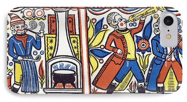 Cook And Musicians 1818 Phone Case by Granger