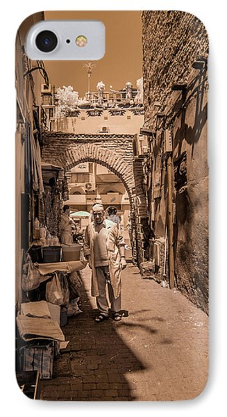 Cooking On The Streets Of Marrakech IPhone Case