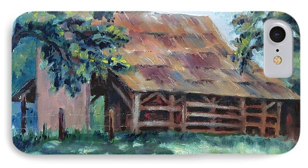 Cool Barn IPhone Case by William Reed