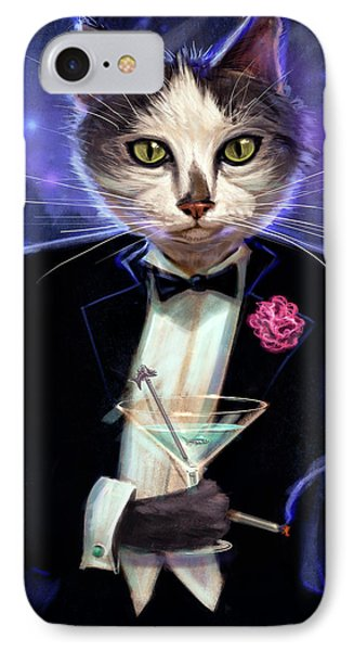 Cool Cat Phone Case by Jeff Haynie