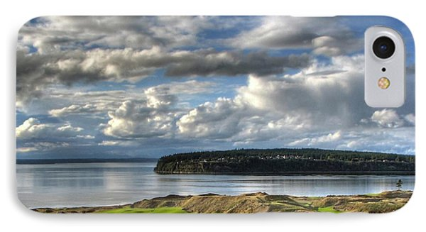 IPhone Case featuring the photograph Cool Clouds - Chambers Bay Golf Course by Chris Anderson