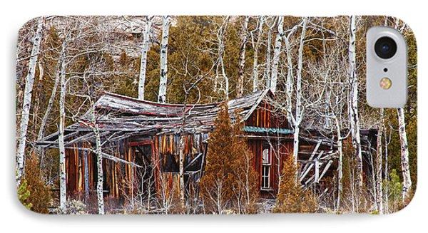 Cool Colorado Rural Rustic Rundown Rocky Mountain Cabin  Phone Case by James BO  Insogna