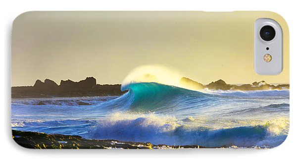 Cool Curl IPhone Case by Sean Davey