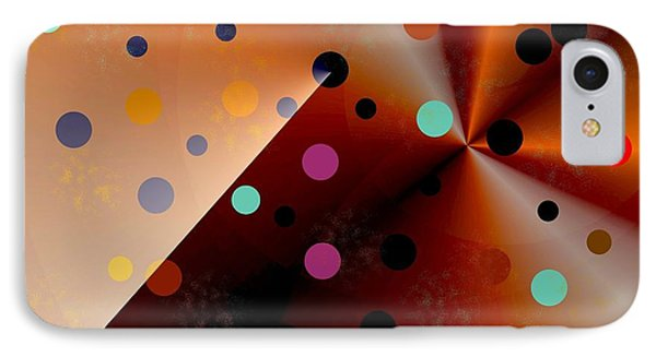 Cool Dots IPhone Case by Jessica Wright
