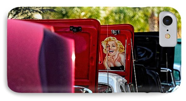 Cool Hood IPhone Case by Pamela Blizzard
