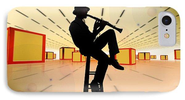 Cool Jazz 3 Phone Case by Bedros Awak