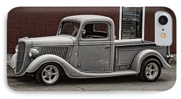 Cool Little Ford Pick Up IPhone Case by Ron Roberts