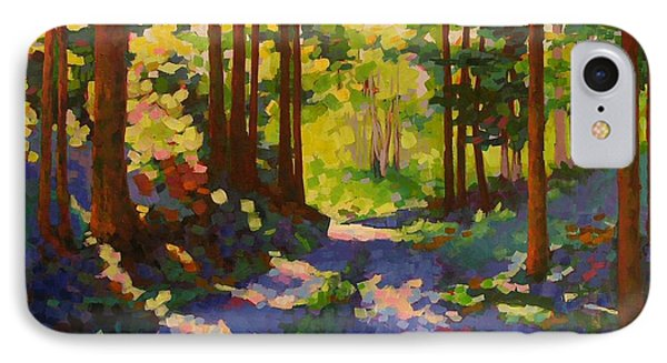 Cool Of The Shade Phone Case by Mary McInnis