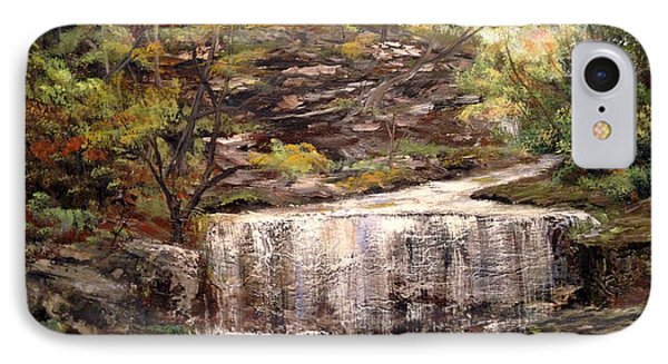 Cool Waterfall IPhone Case by Dorothy Maier
