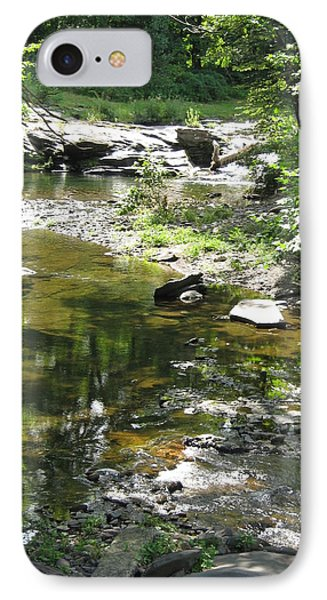 IPhone Case featuring the photograph Cool Waters by Ellen Levinson