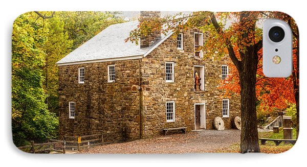 Cooper Gristmill IPhone Case by Debra Fedchin