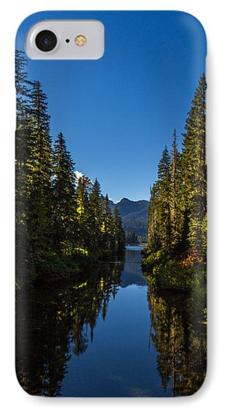 Cooper River Feeding Cooper Lake IPhone Case by Rob Green