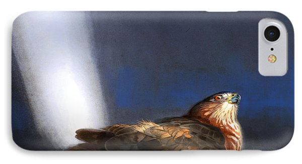 IPhone Case featuring the digital art Coopers Hawk by Aaron Blaise