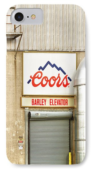 Coors Barley Elevator  Phone Case by James BO  Insogna
