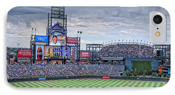 Coors Field Phone Case by Ron White